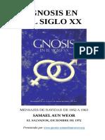 1963 Samael Aun Weor Gnosis en El Siglo XX