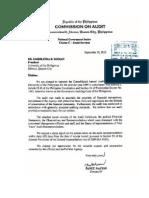 01-UP09 Transmittal Letter