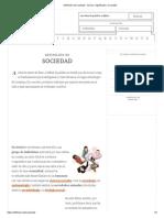 Definición de sociedad - Qué es, Significado y Concepto.pdf