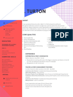 Mobius Industries Marketing CV