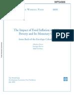 Inflasi Kemiskinan Kota WB