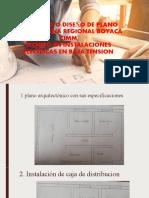 REPLANTEO O DISEÑO DE PLANO ELECTRICO  SENA REGIONAL