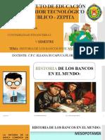 HISTORIA DEL BANCO EN EL MUNDO SESION 4