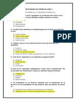 Cuestoonario De Farmacologia II COMPLETO