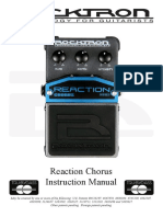 Manual Reaction Chorus Rocktron