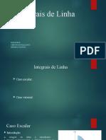 Integrais de Linha_Apresentação