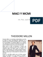 MACI Y MCMI