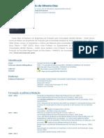 Currículo do Sistema de Currículos Lattes (Josinaldo de Oliveira Dias)