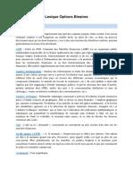 Lexique Forex