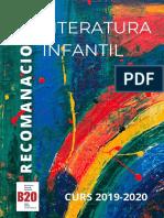 Tria de llibres 2019-2020 CLUB LITERATURA INFANTIL