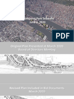Southpoint Park Seawalls Revised Design
