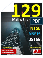 129 Maths Short Tricks for NTSE NSEJS JSTSE AMB Amans Maths Blogs