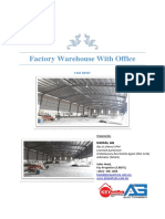 Factory Warehouse With Office