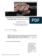 Artigo Literatura de resistência na América Latina_ a questão das _I_narrativas de testimonio- nº 37 Espéculo (UCM)