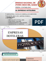 EMPRESAS HOTELERAS .pptx
