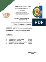 EMPRESAS HOTELERAS .docx
