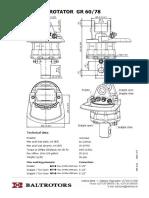 Rotator Baltrotors GR60-78