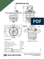 Rotator Baltrotors GR105