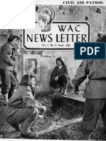 WWII Women's Army Corps Newsletter