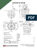 Rotator Baltrotors GR105DB