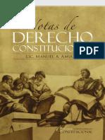 Notas de Derecho Constitucional  Manuel A. Amiama (1)