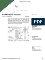 Klasifikasi Spinal Cord Injury - Medstellar