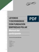 Leyendo y escribiendo con Fundación Empresas Polar. Manual del participante.pdf