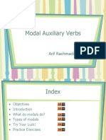 Module 5 - Modal Auxiliary Verbs