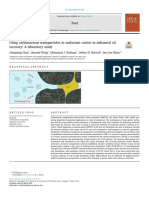 Using carbonaceous nanoparticles as surfactant carrier in enhanced oil recovery; A laboratory study