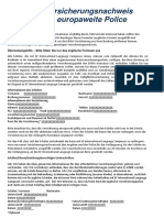 Vergleichsdokument versicherung