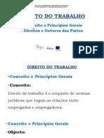 DIREITO DO TRABALHO b