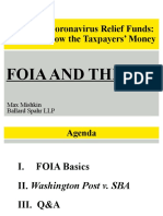 Status of FOIA case to demand release of all PPP data