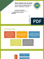 UNIVERSIDAD CENTRAL DEL ECUADOR  FACULTAD DE CIENCIAS ADMINISTRATIVAS