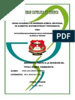 Patologías relacionadas con el funcionamento de la glándula tiroides