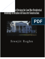 Standard Structural Designs for Low Rise Residential Buildings in RC Construction