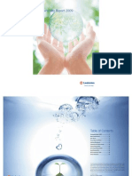Lindstrom_sustainability Report 2009