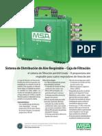 Breathing Air Distribution System - Filtration Box Bulletin - MX-ES