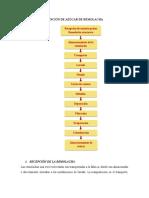 PROCESOS DE OBTENCIÓN DE AZÚCAR DE REMOLACHA