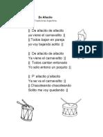 De-Allacito-letra-música