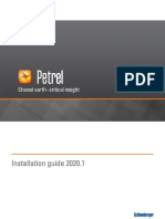 Petrel 2020-1 Installation Guide