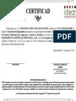 22-06-2020 --- CERTIFICADO NR-6 TREINAMENTO EPI --- FRANCISCO JOSE VIANA DOS SANTOS --- IDEAR ENGENHARIA.pptx