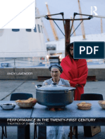 Andy Lavender-Performance in the Twenty-First Century_ Theatres of Engagement-Routledge (2016)