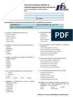 Sec. 3º - As15 - Lenguaje - Práctica