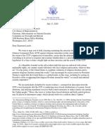 House GOP - Uyghurs - CCP Genocide Letter