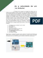 Aula 16 Controlando um motor CC com  Arduino