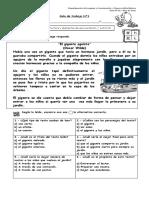Guía N° 1 - Reconocer extructura y elementos de una invitación
