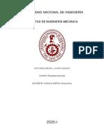 ACtividad sobre la urbanizacion de Lima