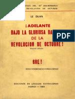 Le Duan Revolucion de Octubre
