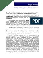 PEQUENO ESBOÇO DE HISTÓRIA DA EXECUÇÃO PENAL