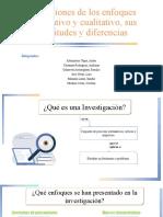 Cap 1 - Definiciones de los enfoques cuantitativos y cualitativos